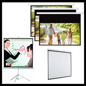 Ecrãs de Projeção